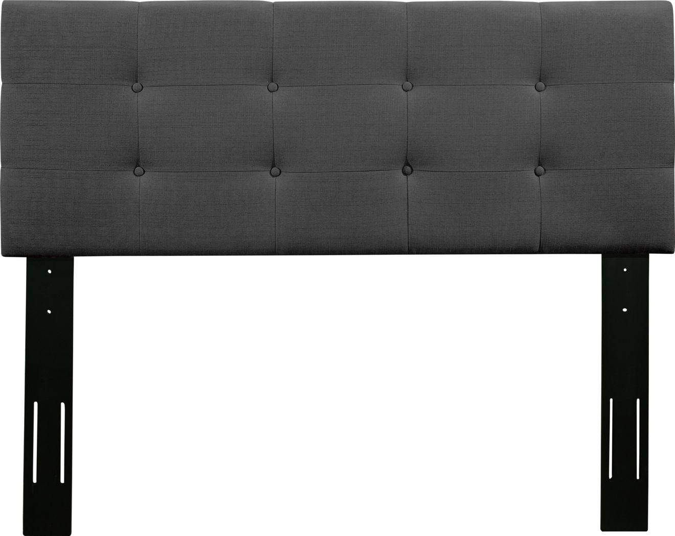 Criswell Dark Gray Twin Upholstered Headboard