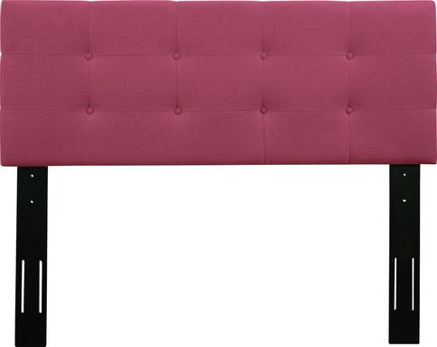 Criswell Pink King Upholstered Headboard