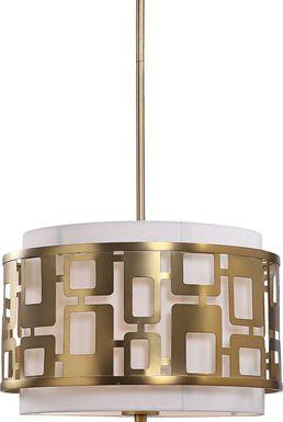 Crossington Brass Pendant