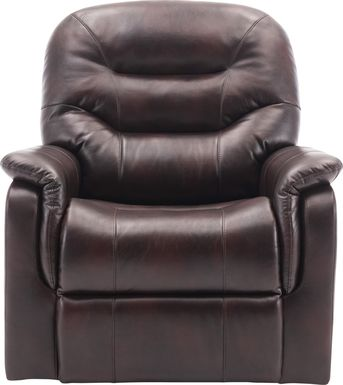 Crozart Brown Power Recliner