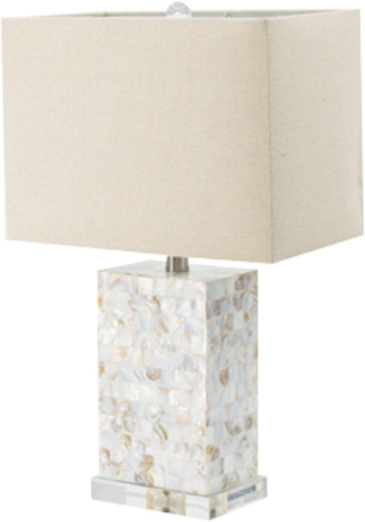 Cuchara Cove White Lamp