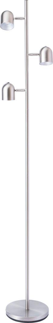 Cunningham Court Nickel Floor Lamp