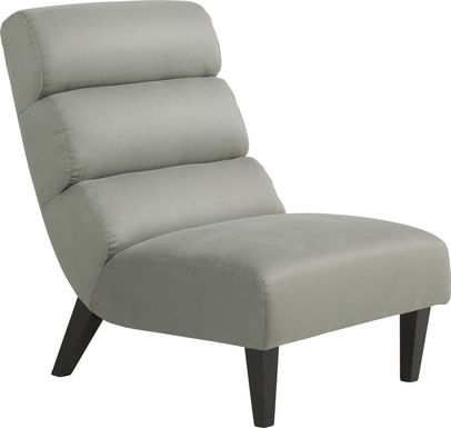 Cybella Steel Accent Chair