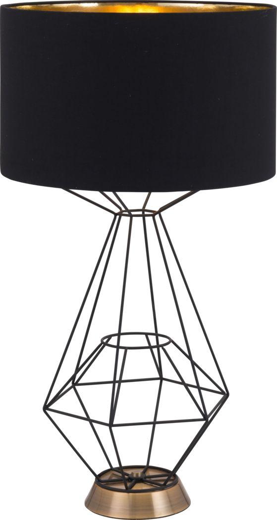 Cypress Circle Black Lamp