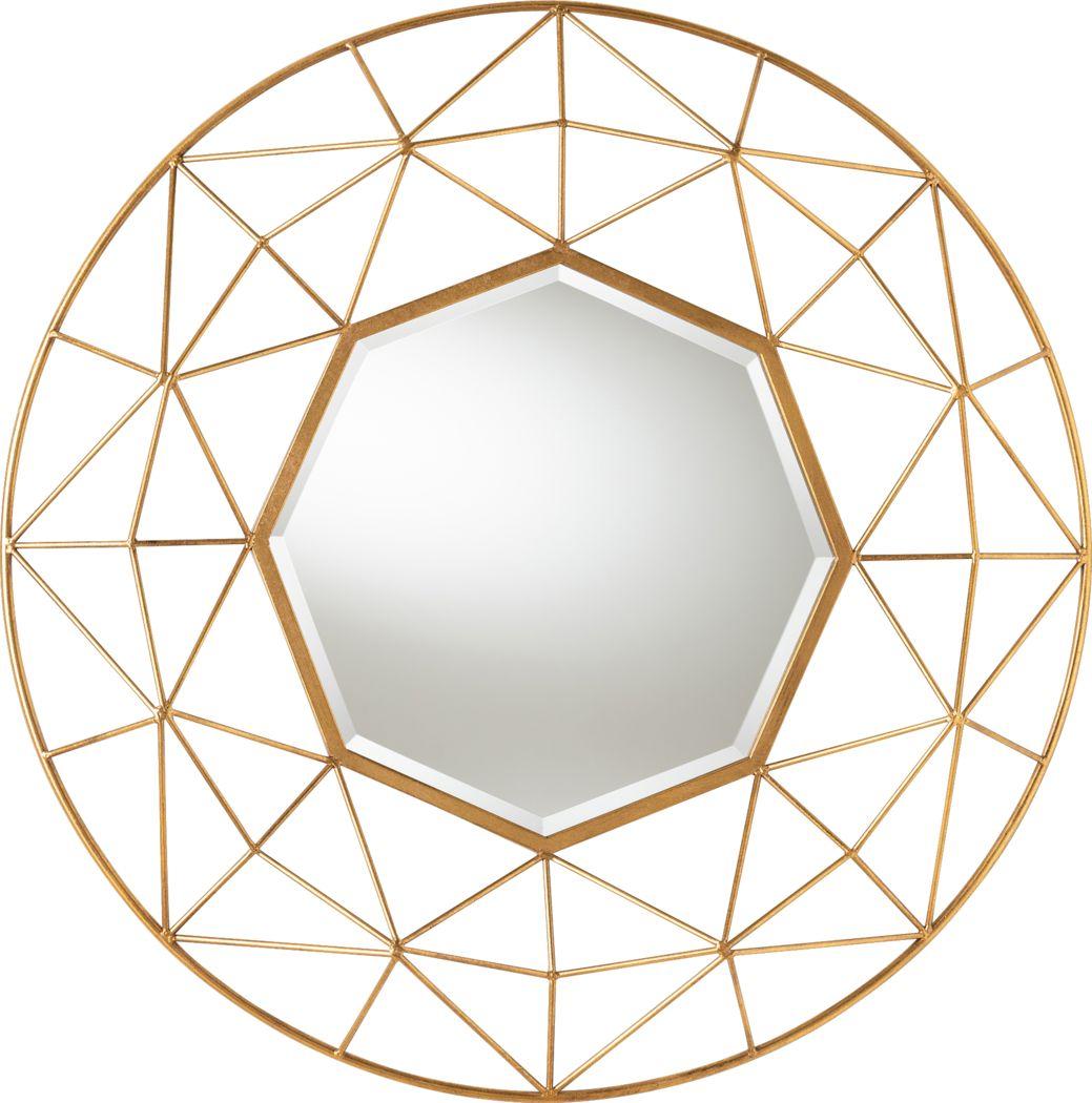 Dafni Gold Mirror
