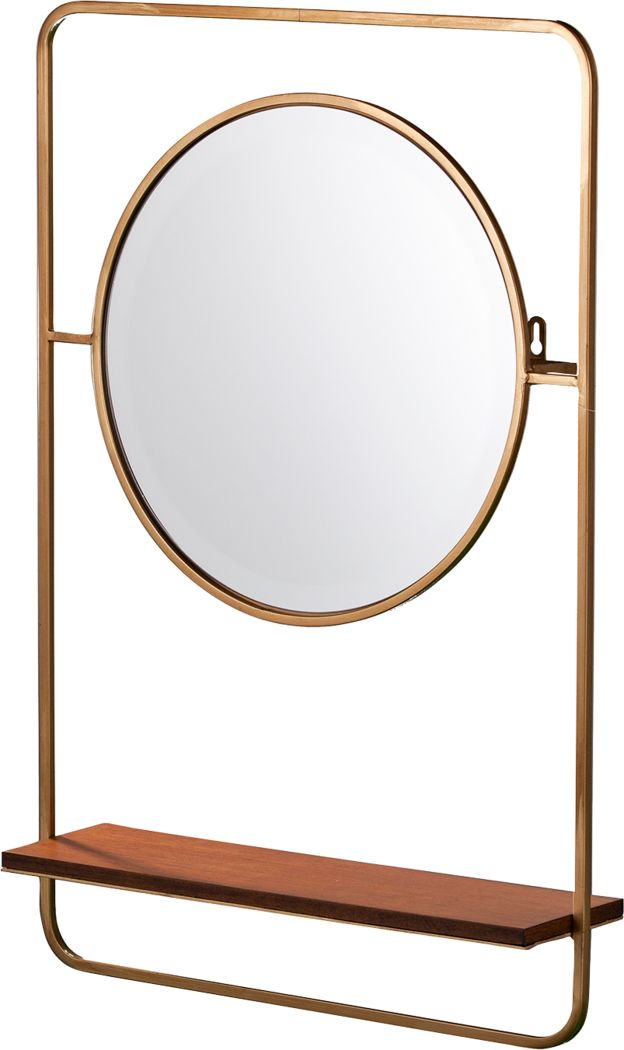 Dalby Yellow Mirror