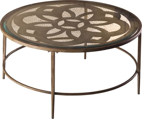 Dalen Brown Cocktail Table
