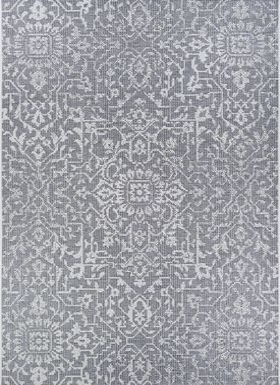 Dalmally Gray 5'3 x 7'6 Indoor/Outdoor Rug