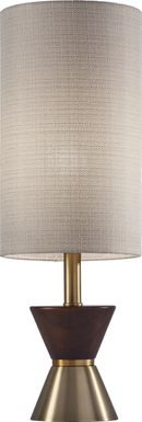 Dalworth Walnut Table Lamp