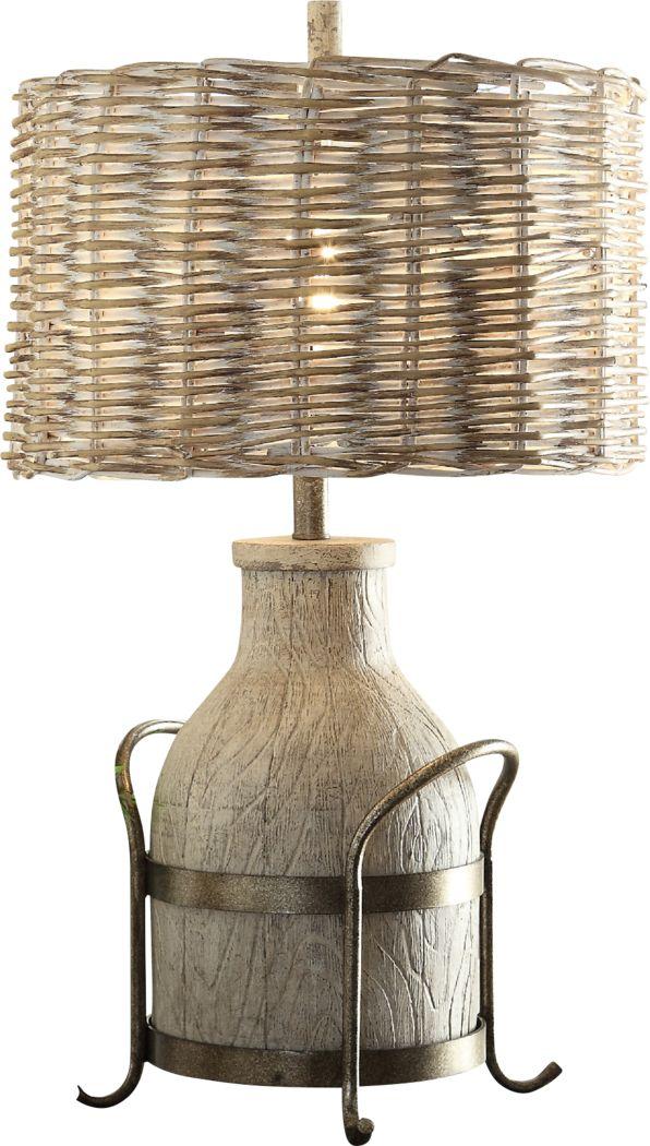 Dame Landing Beige Lamp