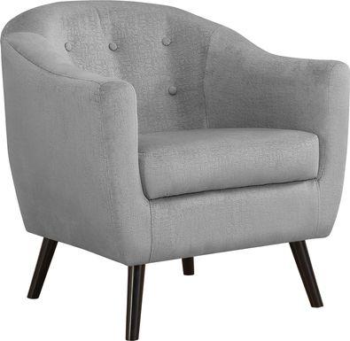 Dameron Gray Accent Chair