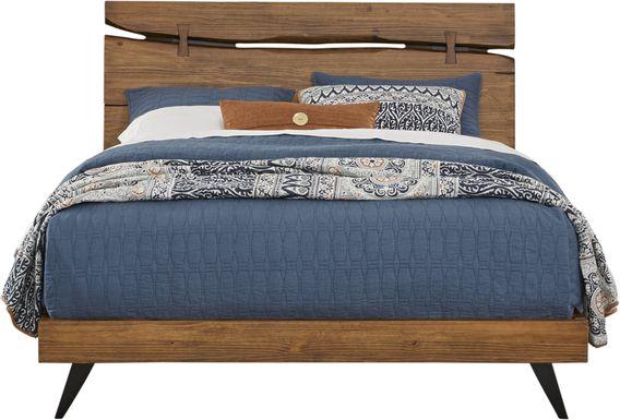 Dana Point Brown 3 Pc Queen Panel Bed
