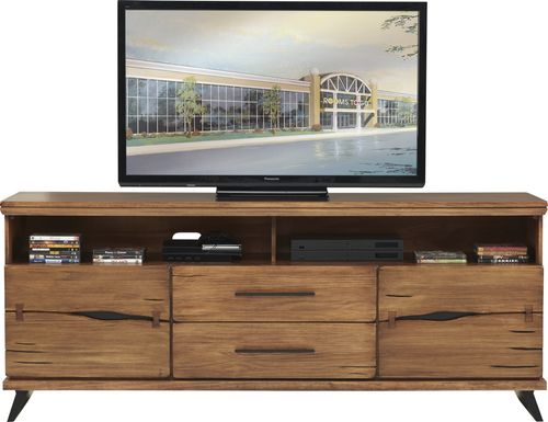 Dana Point Brown 80 in. Console
