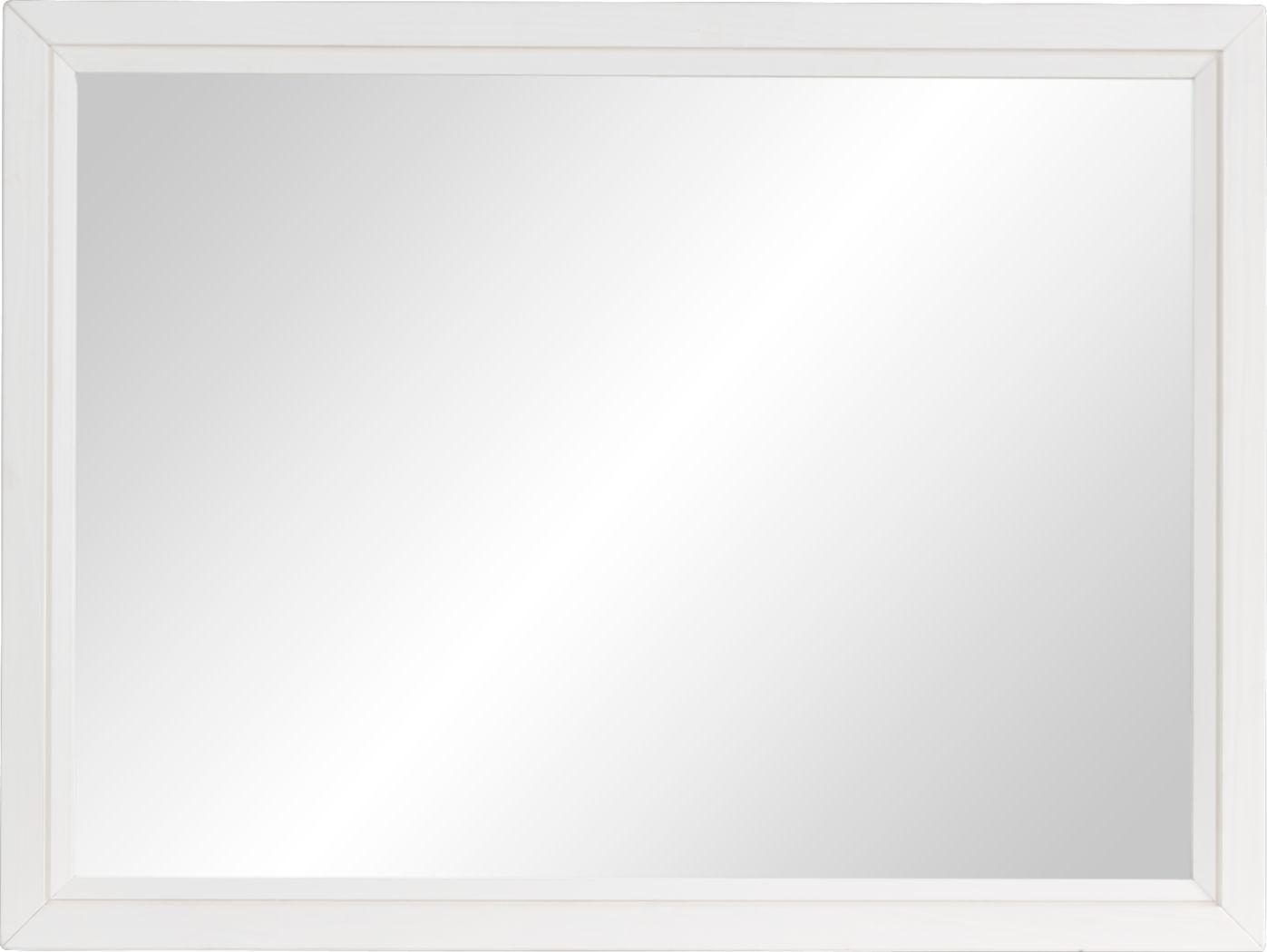 Dana Point White Mirror