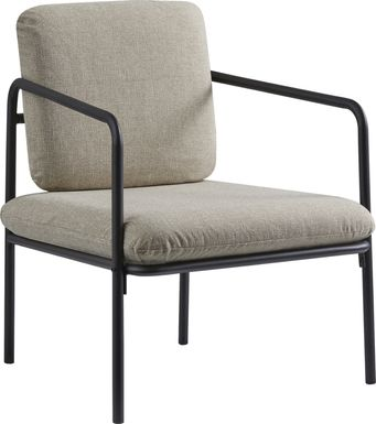 Danbury Way Beige Accent Chair