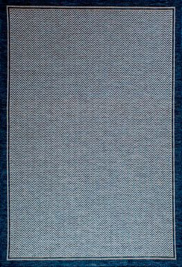 Danelle Cobalt 6'7 x 9'6 Indoor/Outdoor Rug