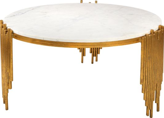 Dans White Cocktail Table