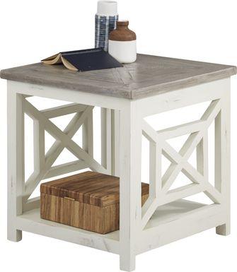 Danusa Gray End Table