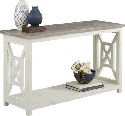 Danusa Gray Sofa Table