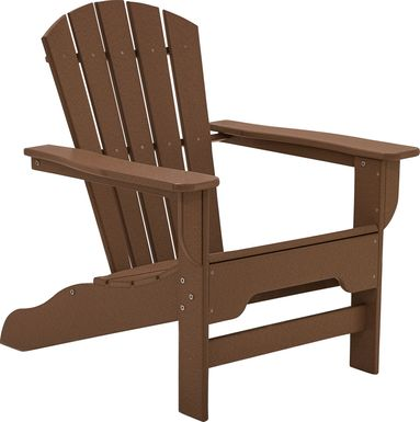 Danverton Traditional Brown Adirondack Chair