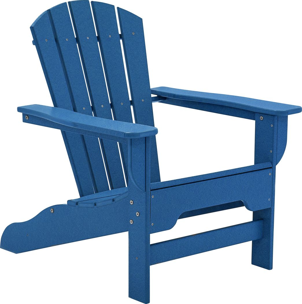 Danverton Vibrant Cobalt Adirondack Chair