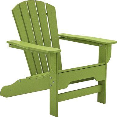 Danverton Vibrant Lime Adirondack Chair