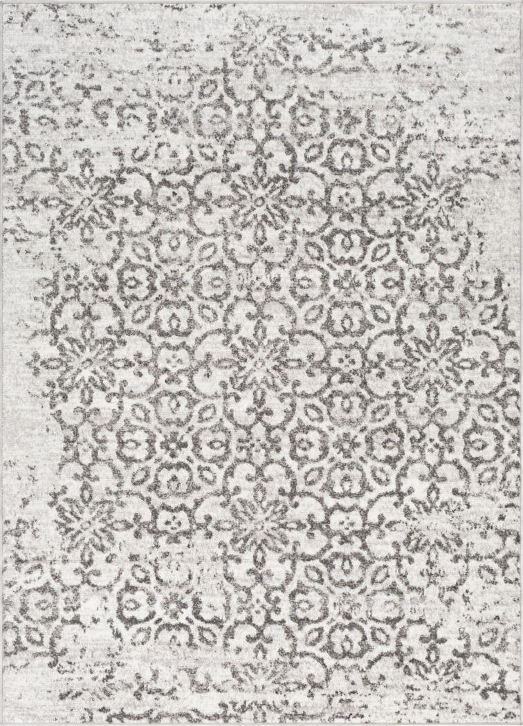 Daralice White 5'3 x 7'3 Rug