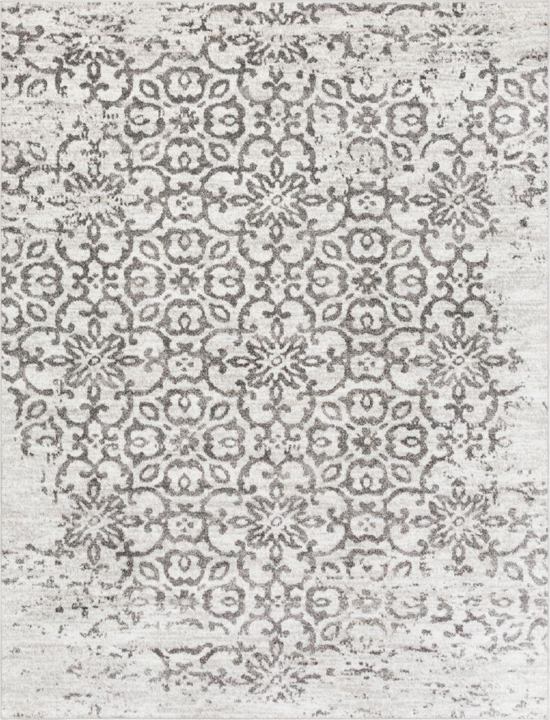 Daralice White 7'10 x 10'3  Rug