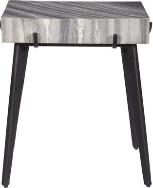 Daran Gray Accent Table