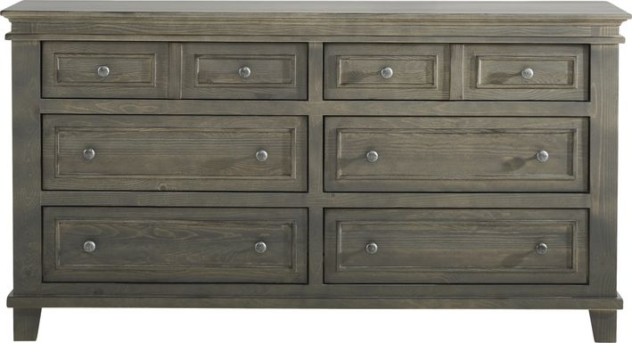 Darby Brook Dark Gray Dresser