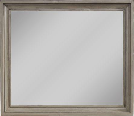Darby Brook Light Gray Mirror