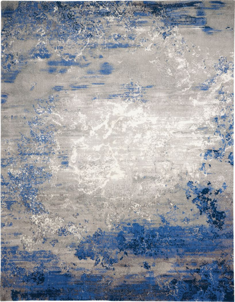 Darena Blue 7'9 x 9'9 Rug