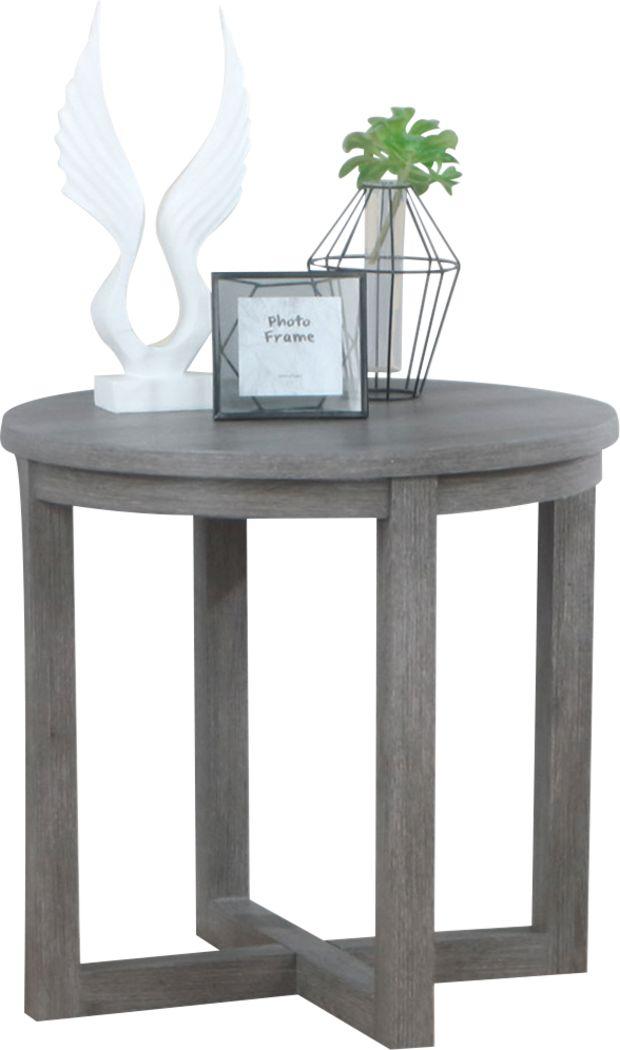 Darien Gray End Table