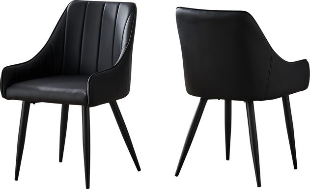 Dashby Black Arm Chair