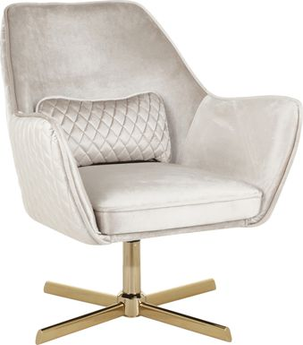 Datura Beige Accent Chair
