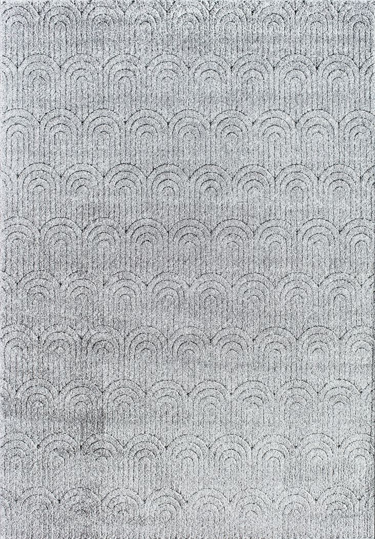 CosmoLiving By Cosmopolitan Davelynn Gray 5' x 7'6 Rug