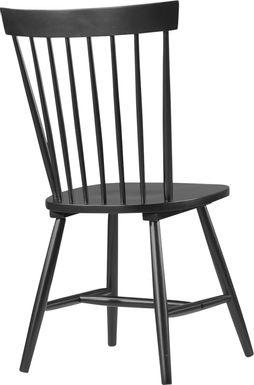 Davenshire Black Side Chair