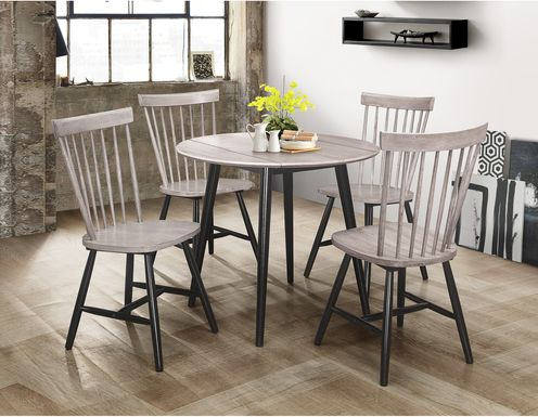 Davenshire Gray 5 Pc Dining Set