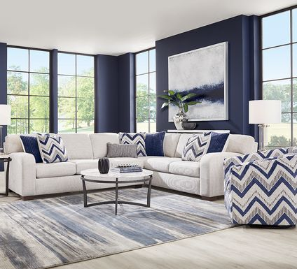 Davilla Platinum 2 Pc Sectional