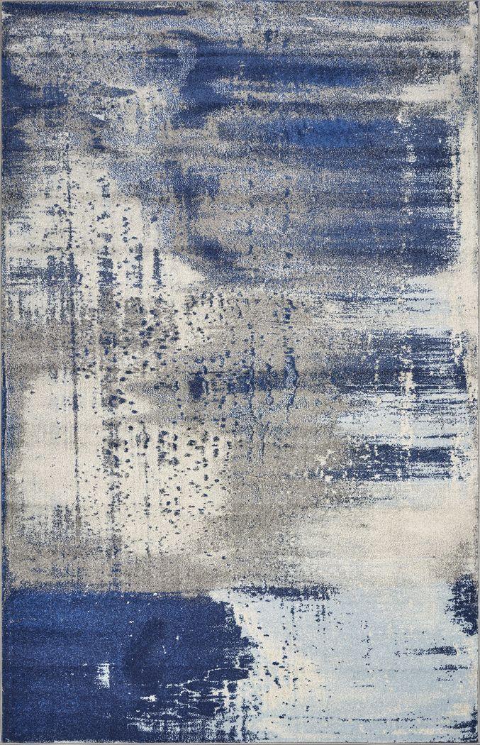 Davine Blue 5' x 7'6 Rug
