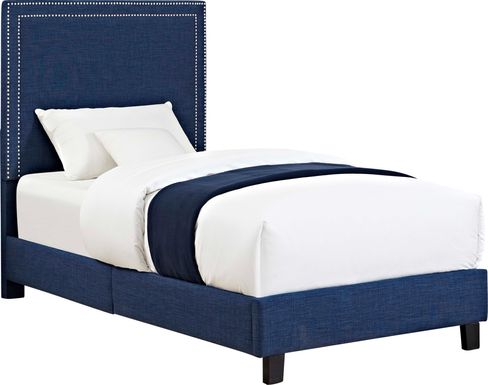 Davmor Blue Twin Bed
