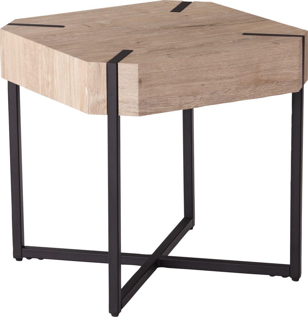Dawnlay Natural End Table