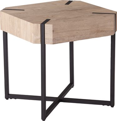 Dawnlay Natural End Table
