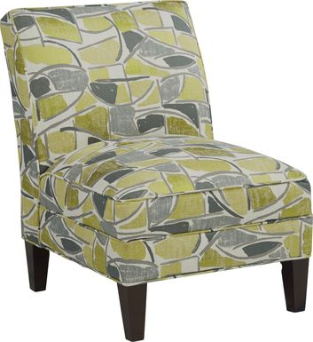 Daydream Yellow Accent Chair