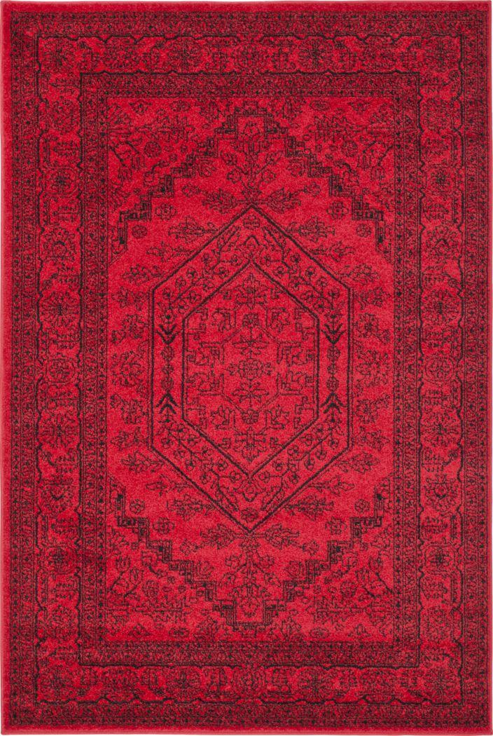 Daylee Red 8' x 10' Rug