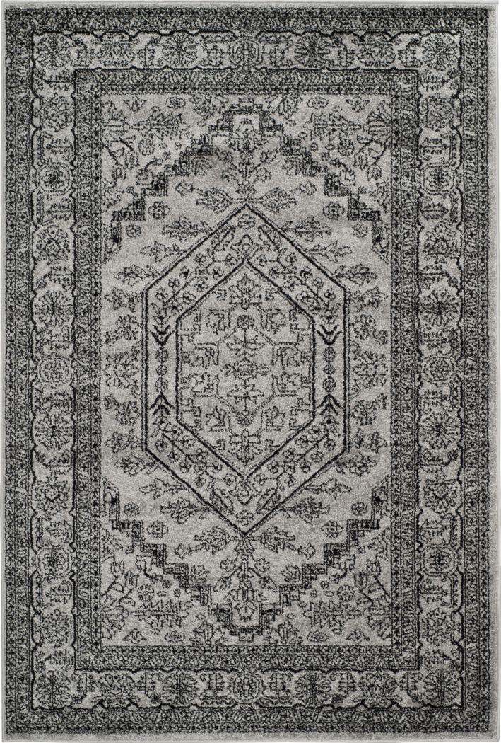 Daylee Silver 5' x 8' Rug