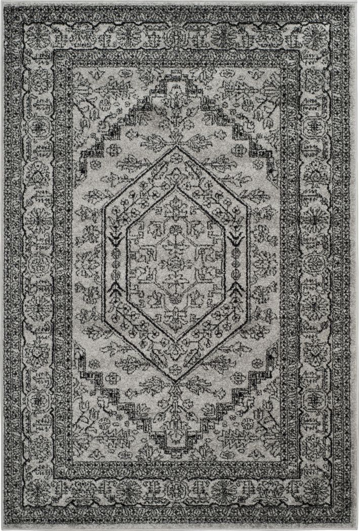 Daylee Silver 6' x 9' Rug