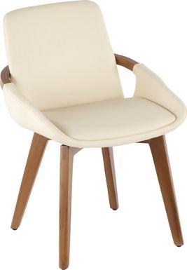 Daylilly Cream Arm Chair