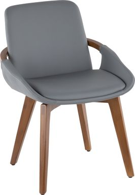Daylilly Gray Arm Chair