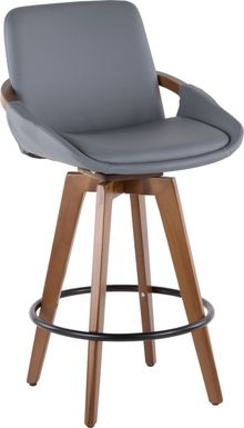 Daylilly Gray Counter Height Stool